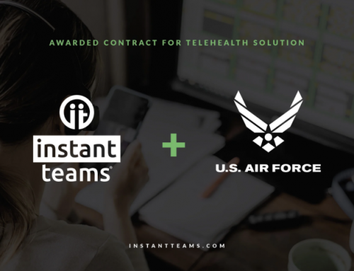 Hampton Roads Startup, Instant Teams, Awarded Contract to Build First-Ever Telehealth Solution for the U.S. Air Force