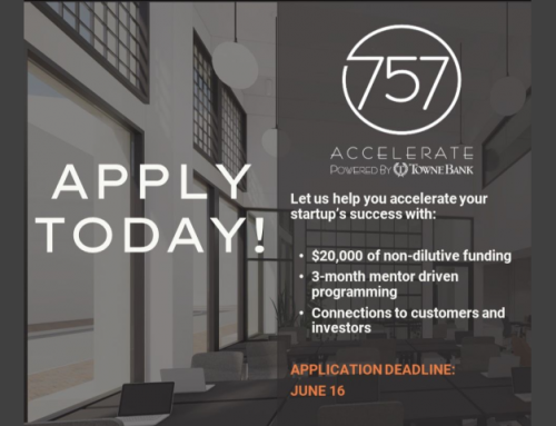 Applications Are Open For 757 Accelerate's Fall Cohort