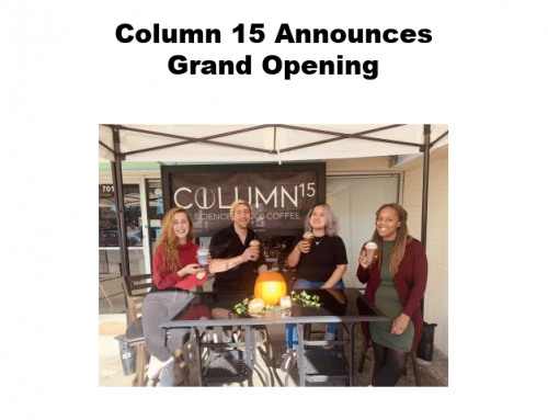 Column 15 announces grand opening date for coffee roastery