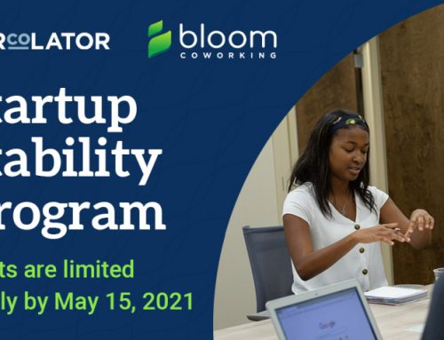 Percolator and Bloom Co-working Announce the Launch of the Startup Stability Program