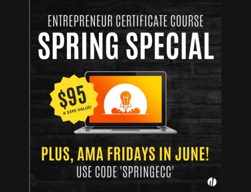 Startup Virginia Announces Spring Special Online Entrepreneur Certificate Course