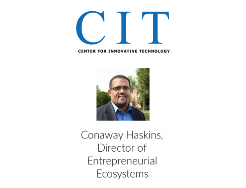 Conaway Haskins Announced as CIT's Director of Entrepreneurial Ecosystems