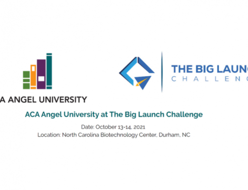 Attend the Big Launch Challenge Pitch Competition & Angel Capital Association Angel University