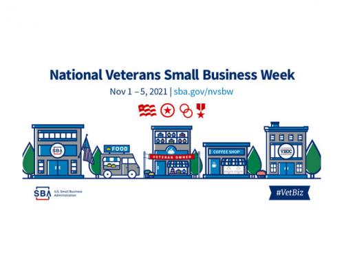 National Veteran Small Business Week (November 1-5)